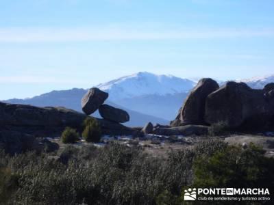 Senderismo Sierra de la Cabrera; excursiones programadas; grupo montaña
